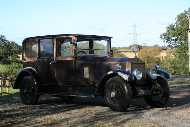 1925 Rolls Royce 20hp Limousine, Chassis no. GNK2 Engine no. G1250