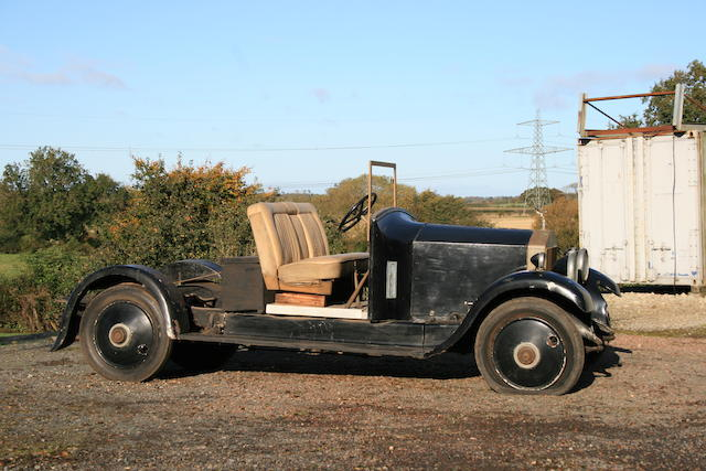 1929 Rolls-Royce 20hp Rolling Chassis  Chassis no. GLN74 Engine no. O2P