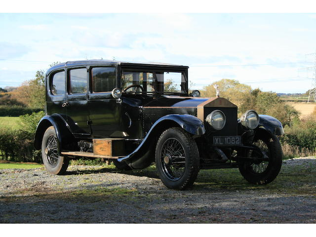1921 Rolls-Royce 45/50hp Silver Ghost Saloon  Chassis no. 89AG Engine no. 0106
