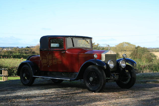 1926 Rolls Royce 20hp Doctors Coupe, Chassis no. GCK24 Engine no. G1518