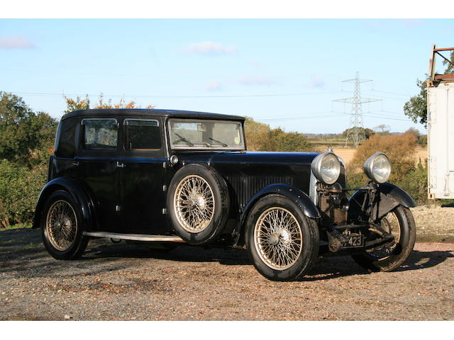 1931 Lagonda 3-Litre Low Chassis Saloon  Chassis no. Z9861 Engine no. 1609