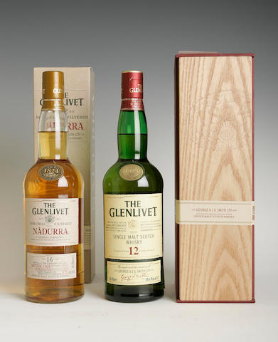 The Glenlivet Archive-21 year oldThe Glenlivet Nadurra-16 year oldThe Glenlivet-12 year old