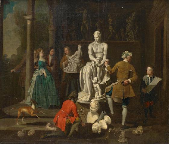 Attributed to Jan Josef Horemans the Younger (Antwerp 1714-1790) Sculptor Studio