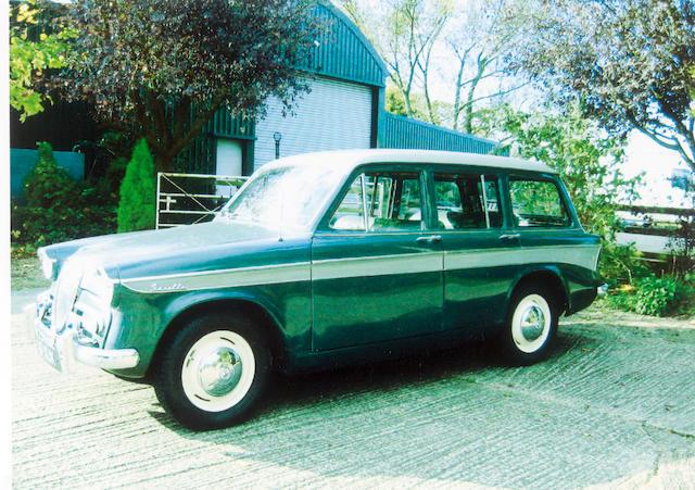 1960 Singer Gazelle MkIIIB Estate  Chassis no. 7036628 Engine no. B703628