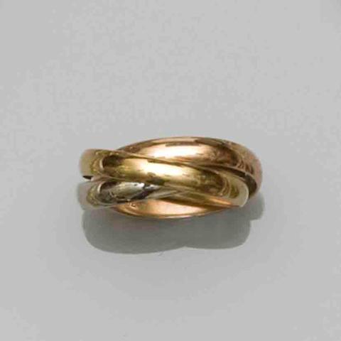 A 'Trilogy' ring, by Les Must de Cartier