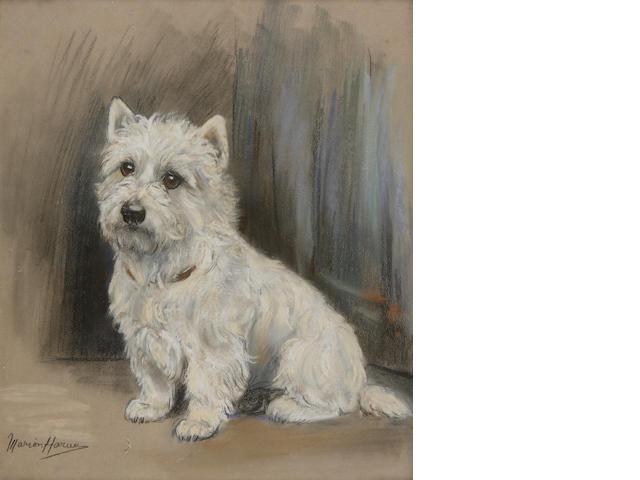Marion Rodger Hamilton Harvey (British, 1886-1971) A Westie