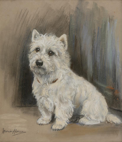 Marion Rodger Hamilton Harvey (British, 1886-1971) A Westie