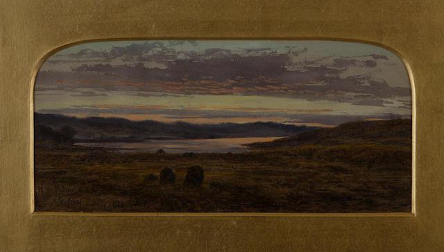 "Waller Hugh Paton, RSA RSW (British, 1828-1895) ""Skeabost"" (Skye)"