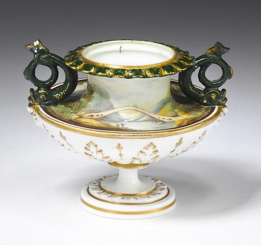 An important Nantgarw vase Circa 1818-20.