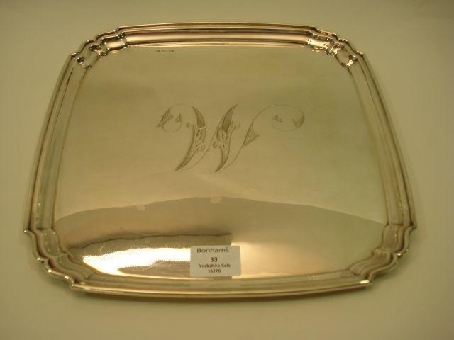A George V  tray by Boardman, Glossop and Co Limited, Sheffield 1920