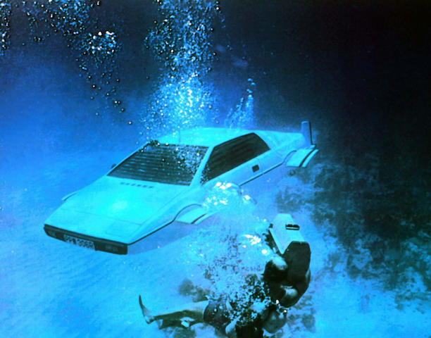 The ex-James Bond, 'The Spy Who Loved Me',1976 Lotus Esprit Coupé  Chassis no. 76090187G Engine no. 760913101