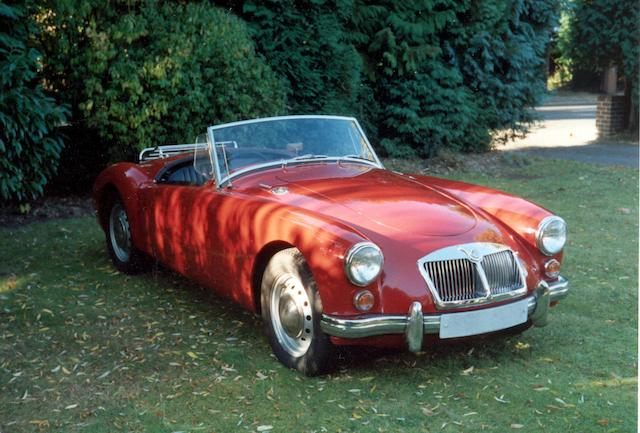 1962 MGA 1600 Roadster  Chassis no. GRN2 2107636 Engine no. 2107636