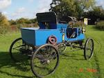 1901 American Steamer 5hp Two Seater Runabout  Chassis no. SW 24702 PA