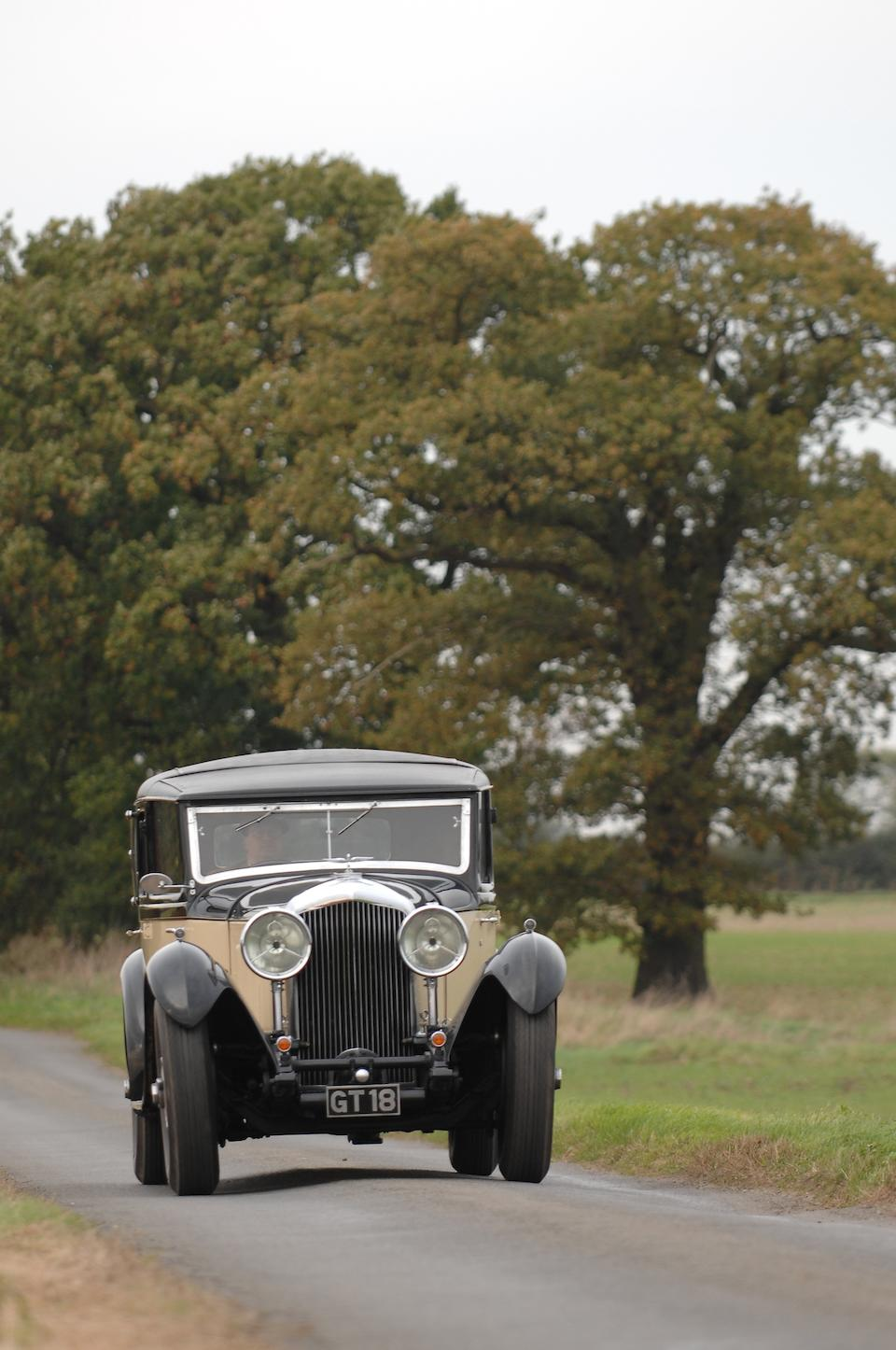 1931 Bentley 8-Litre Sedanca de Ville  Chassis no. YM 5034 Engine no. YM 5034