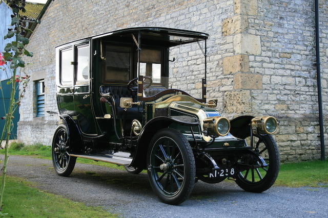 1909 Renault Type BX 14/20hp Limousine  Chassis no. 359 Engine no. 3384