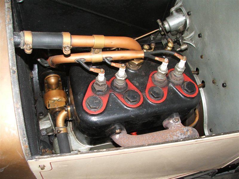 1913 Adler 5/13PS Kleinwagen Tourer  Chassis no. 7840 Engine no. 8112K