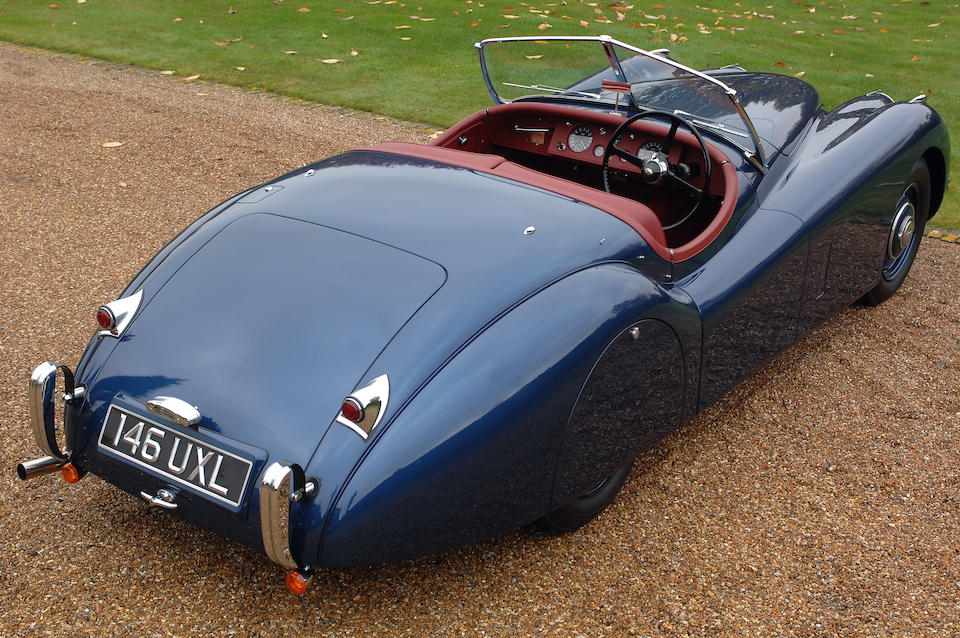 Jaguar XK National Concours-winning,1951 Jaguar XK120 Roadster  Chassis no. 671601 Engine no. W3672-8