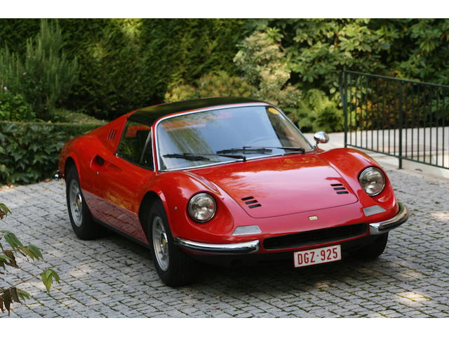 Same owner (the 2nd) since 1978,1975 Dino 246 GTS  Chassis no. 07620