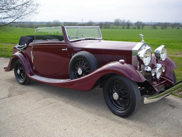 1934 Rolls-Royce 20/25hp Drophead Coupé, Chassis no. GNC42 Engine no. G7L