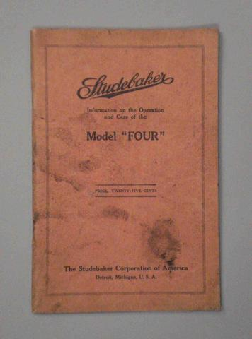 A Studebaker Model Four sales brochure,