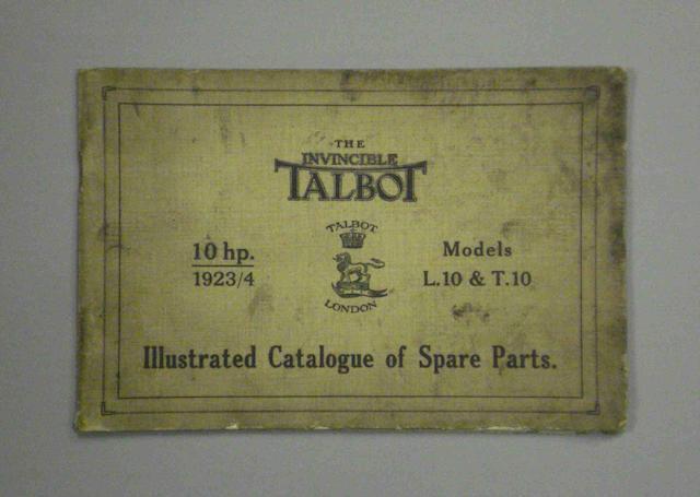 A Talbot L10 & T10 brochure,