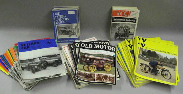 Various motoring magazines,
