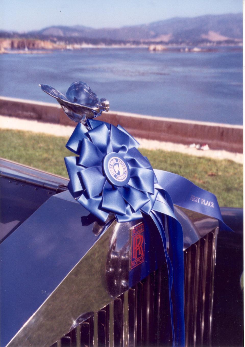The property of Sir John Stuttard, Lord Mayor of London, 2006-2007.  1994 Pebble Beach Concours d'Élégance Class Winner.  1996 Masters Class Winner, RREC Annual Rally, Althorp Park,,1931 Rolls-Royce Phantom II Continental Touring Saloon  Chassis no. 50GX Engine no. KA95
