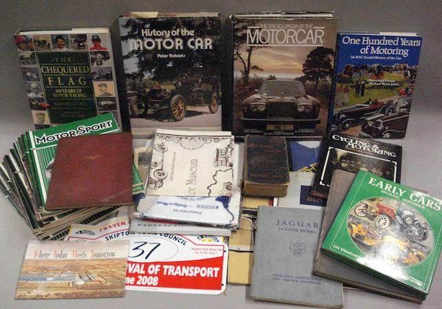 Assorted Books and ephemera,
