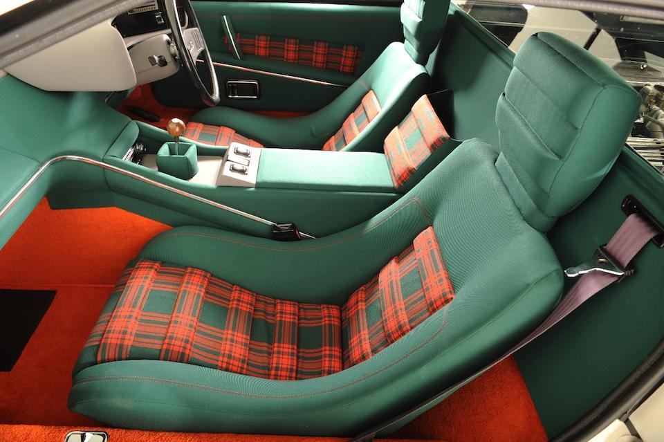 The ex-James Bond, 'The Spy Who Loved Me',1976 Lotus Esprit Coupé  Chassis no. 76090187G Engine no. 760913101