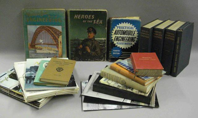 Various motorcar related literature and ephemera,