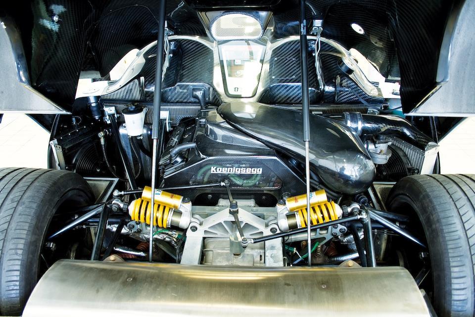 2004 Koenigsegg CC8S Coupé  Chassis no. YT9M1GV8D2007006