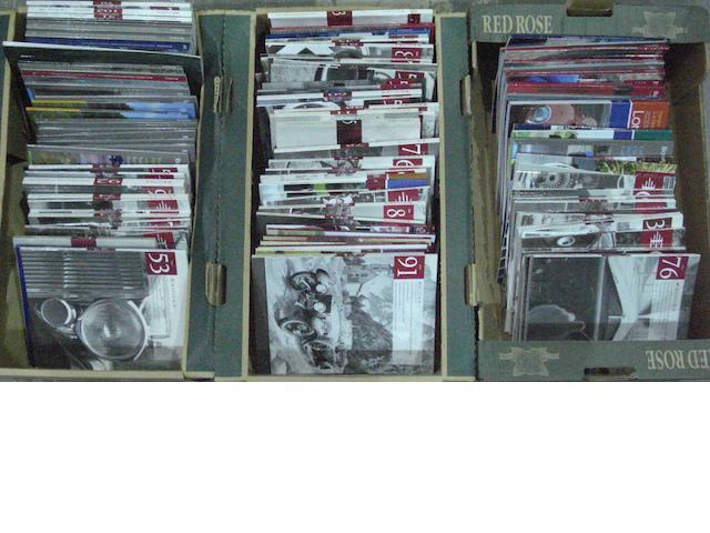 A quantity of Bonhams and Brooks auction catalogues,