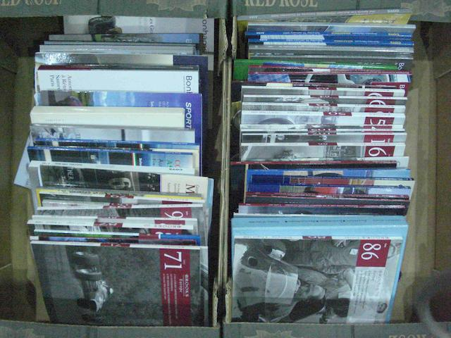 A quantity of auction catalogues,