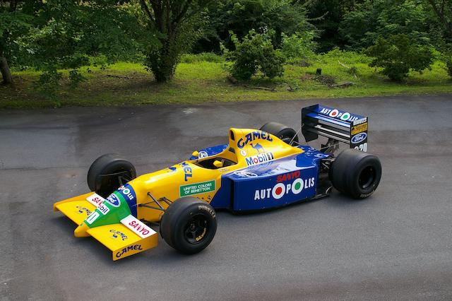 The Ex-Nelson Piquet /Alessandro Nannini/Roberto Moreno,1990-91 Benetton B190 Formula 1 Racing Single-Seater  Chassis no. B190-S/C 6