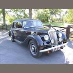 1953 Riley RME 1½-Litre Sports Saloon  Chassis no. RME21217 Engine no. G17030
