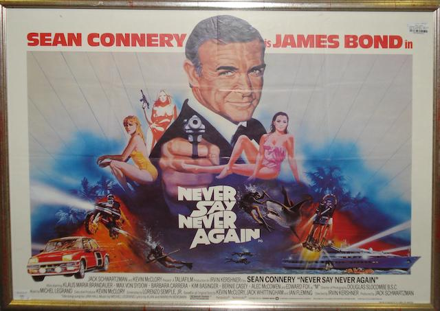 Never Say Never Again,  Warner Bros., 1983,2