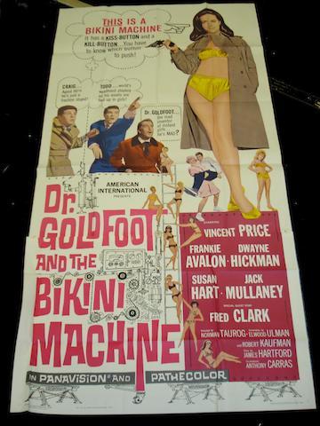 Three large format U.S. film posters, all U.S. three-sheets, titles including: 3