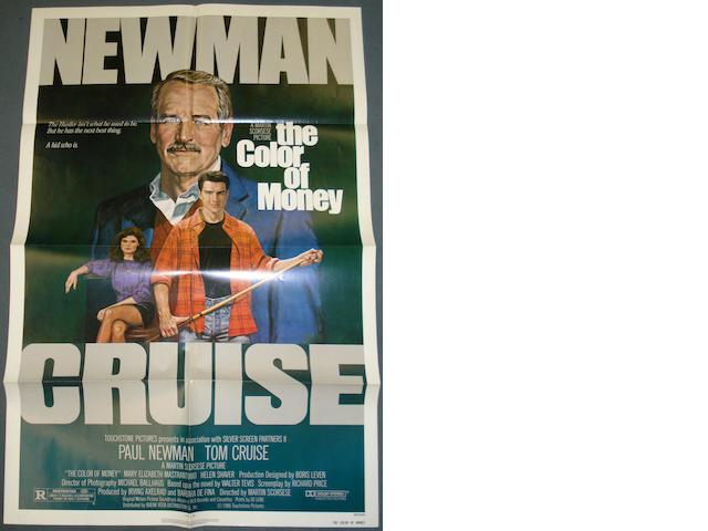 A collection of nine 1980's film posters, titles including:11