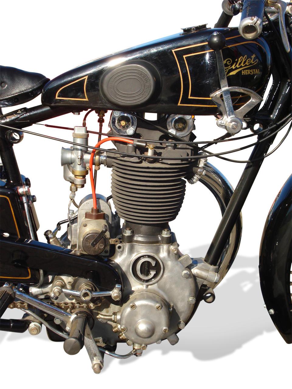 c.1929 Gillet-Herstal 500cc Sport/Competition  Frame no. 31531 Engine no. 31531