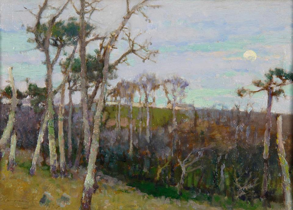 "Samuel John Lamorna Birch, R.A., R.W.S., R.W.A. (British, 1869-1955) ""Boleigh Farm near Lamorna"", and a companion ""The Valley, Lamorna"" a pair,"