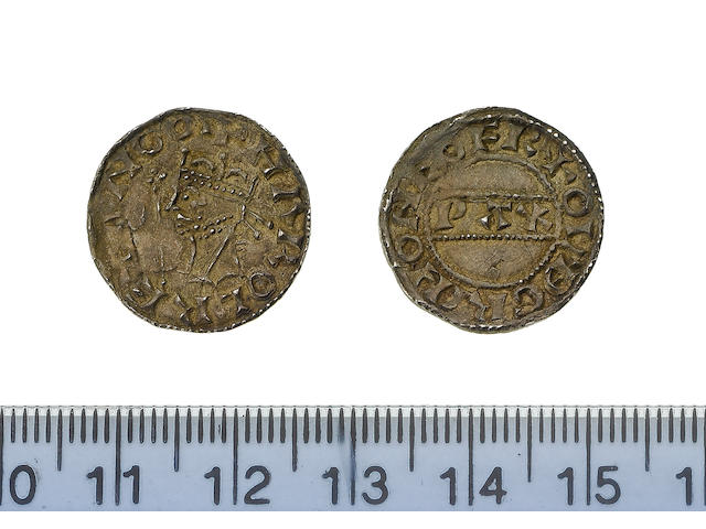 Harold II, Penny, 1.3g, York, crowned bust left with sceptre,