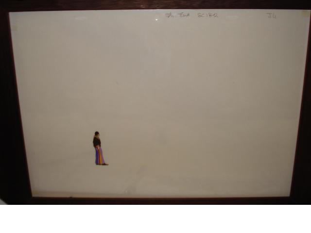 A 'Yellow Submarine' cel, King Features, 1968,