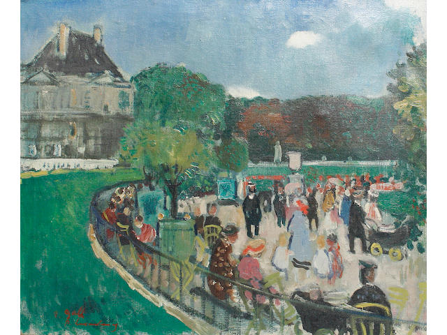 François Gall (French, 1912-1987) Palais du Luxembourg