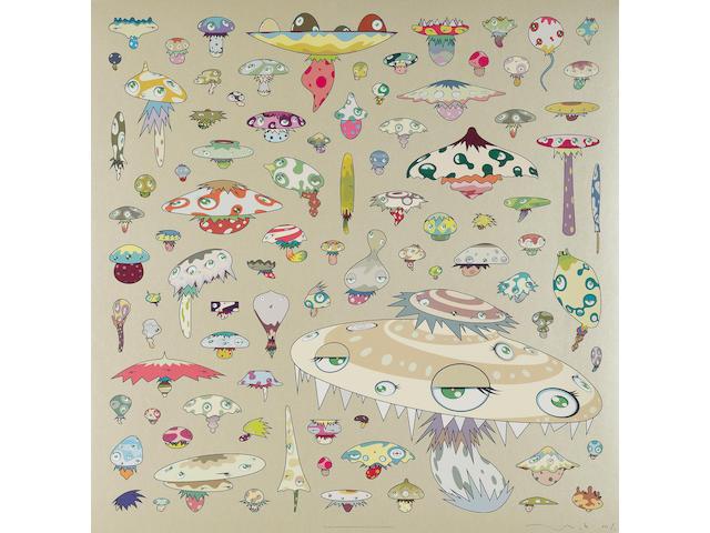 Takashi Murakami (Japanese, born 1962) 'Champignon', 2006