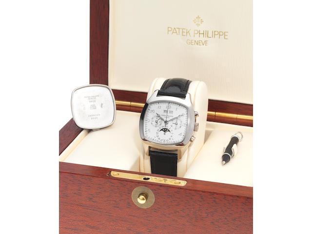 Patek Philippe white gold Ref:5020
