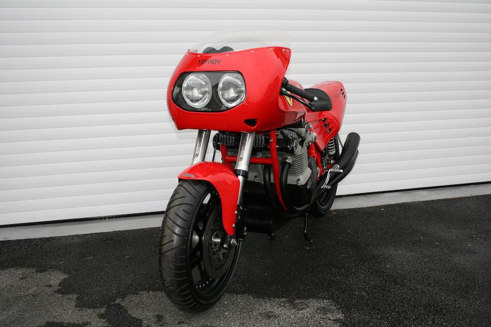 1995 Ferrari 900cc motorcycle by 'David Kay Engineering'