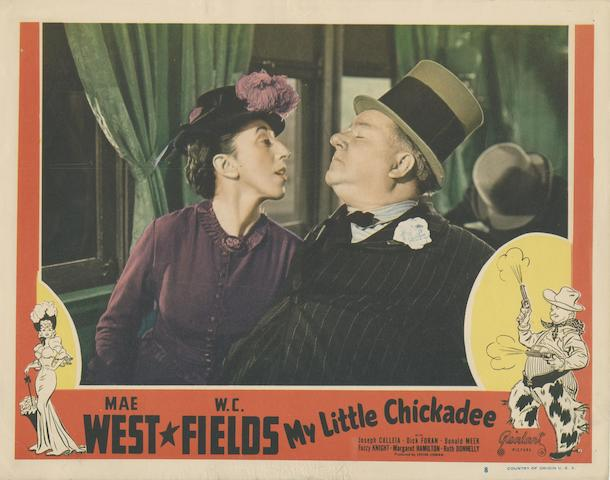A collection of lobby cards and front of house stills,  including: