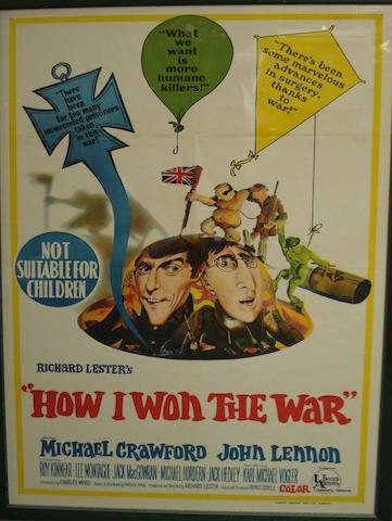 Beatles-related film posters,