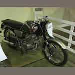 1968 Honda 305cc CB77  Frame no. 102487 Engine no. 102531