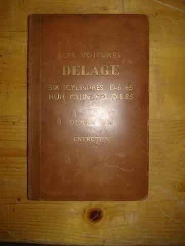 A Delage D6-65,